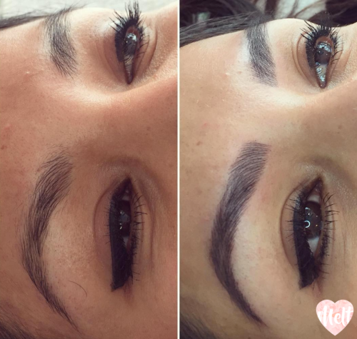 best microblading eyebrows before & after photos