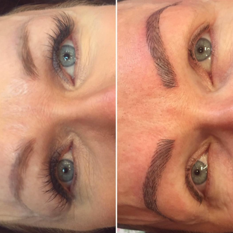 melt by melissa microblading tattoo correction before and after